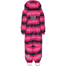 LEGO wear Johan 778 Snowsuit Kinder dark pink